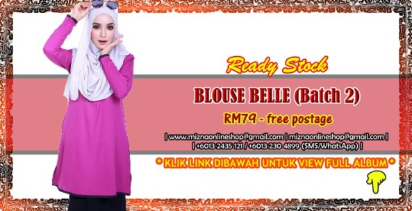 [READY STOCK] BLOUSE BELLE (Batch 2)