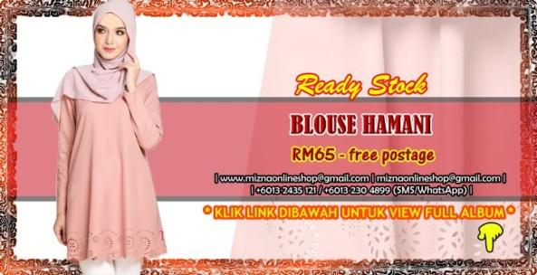 [READY STOCK] BLOUSE HAMANI