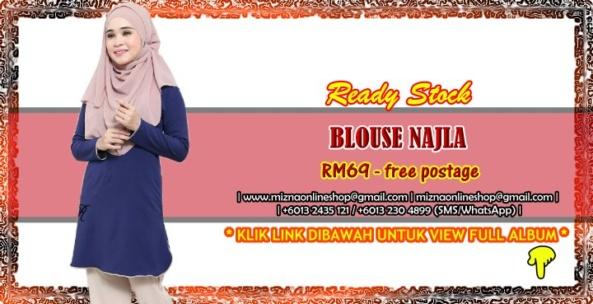 [READY STOCK] BLOUSE NAJLA