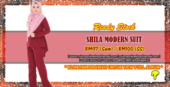 [READY STOCK] MODERN SUIT SHILA