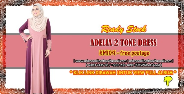[SALE] ADELIA 2 TONE DRESS (Batch II)