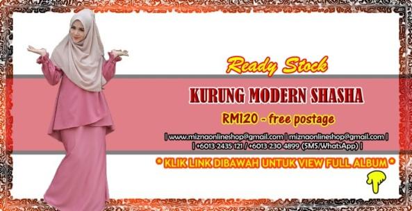 [READY STOCK] KURUNG MODERN SHASHA