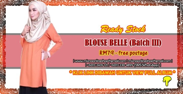 [READY STOCK] BLOUSE BELLE (Batch III)