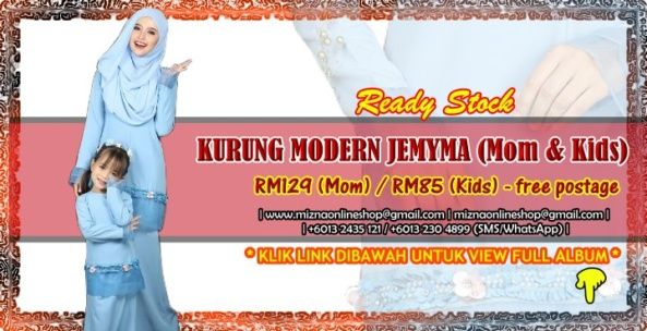 [READY STOCK] KURUNG MODERN JEMYMA (Mom & Kids)