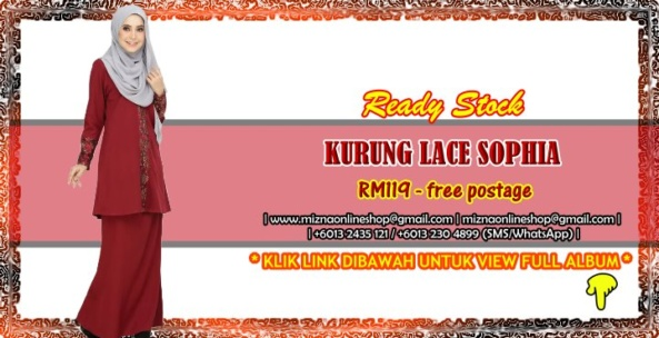 [READY STOCK] KURUNG LACE SOPHIA