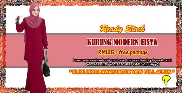 [READY STOCK] KURUNG MODERN EISYA