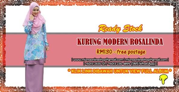 [READY STOCK] KURUNG MODERN ROSALINDA