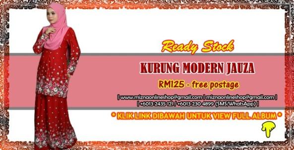 [READY STOCK] KURUNG MODERN JAUZA