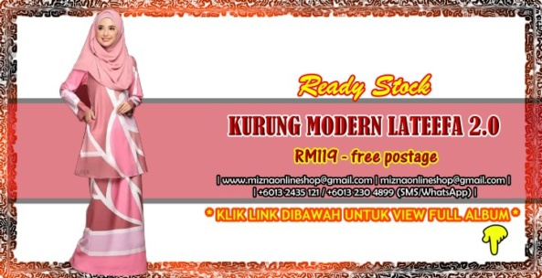 [READY STOCK] KURUNG MODERN LATEEFA 2.0