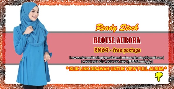 [READY STOCK] BLOUSE AURORA