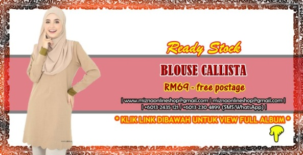[READY STOCK] BLOUSE CALLISTA