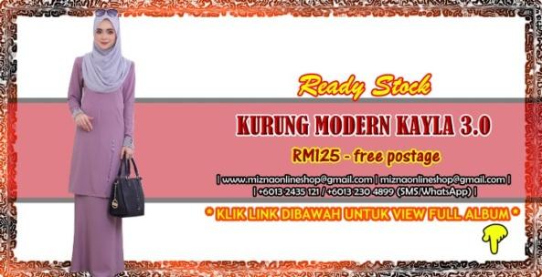 [READY STOCK] KURUNG MODERN KAYLA 3.0