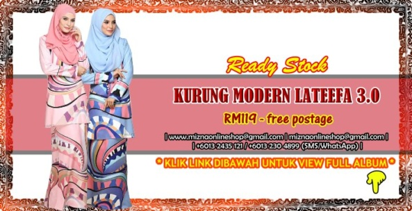 [READY STOCK] KURUNG MODERN LATEEFA 3.0