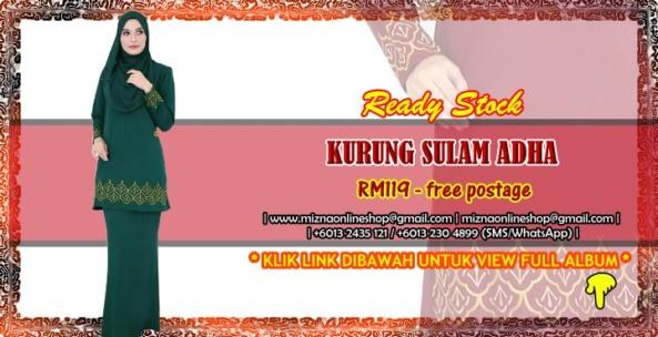 [READY STOCK] KURUNG SULAM ADHA