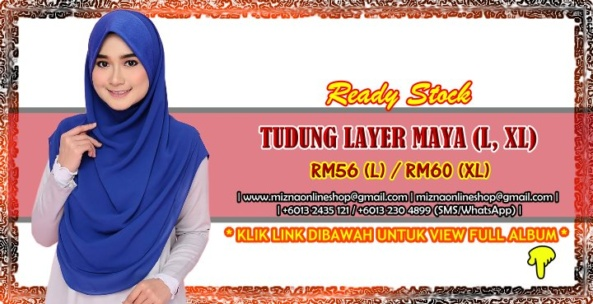 [RS-2] TUDUNG LAYER MAYA (L, XL)